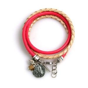 Náramek Ring, růžový