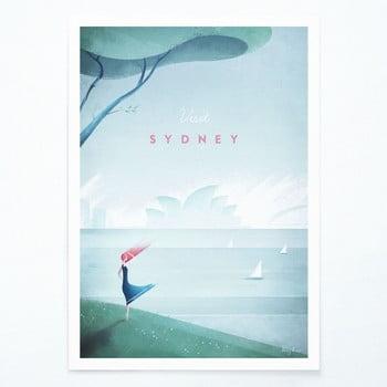 Poster Travelposter Sydney, A2 imagine