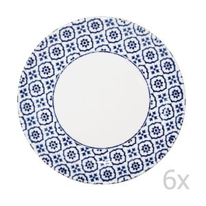 Sada 6 ks talířů Tuscany, 20 cm