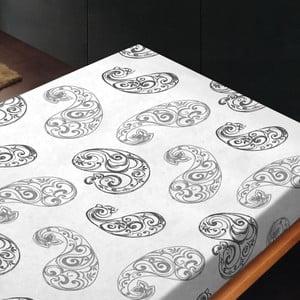 Prostěradlo Paisley Gris, 180x260 cm