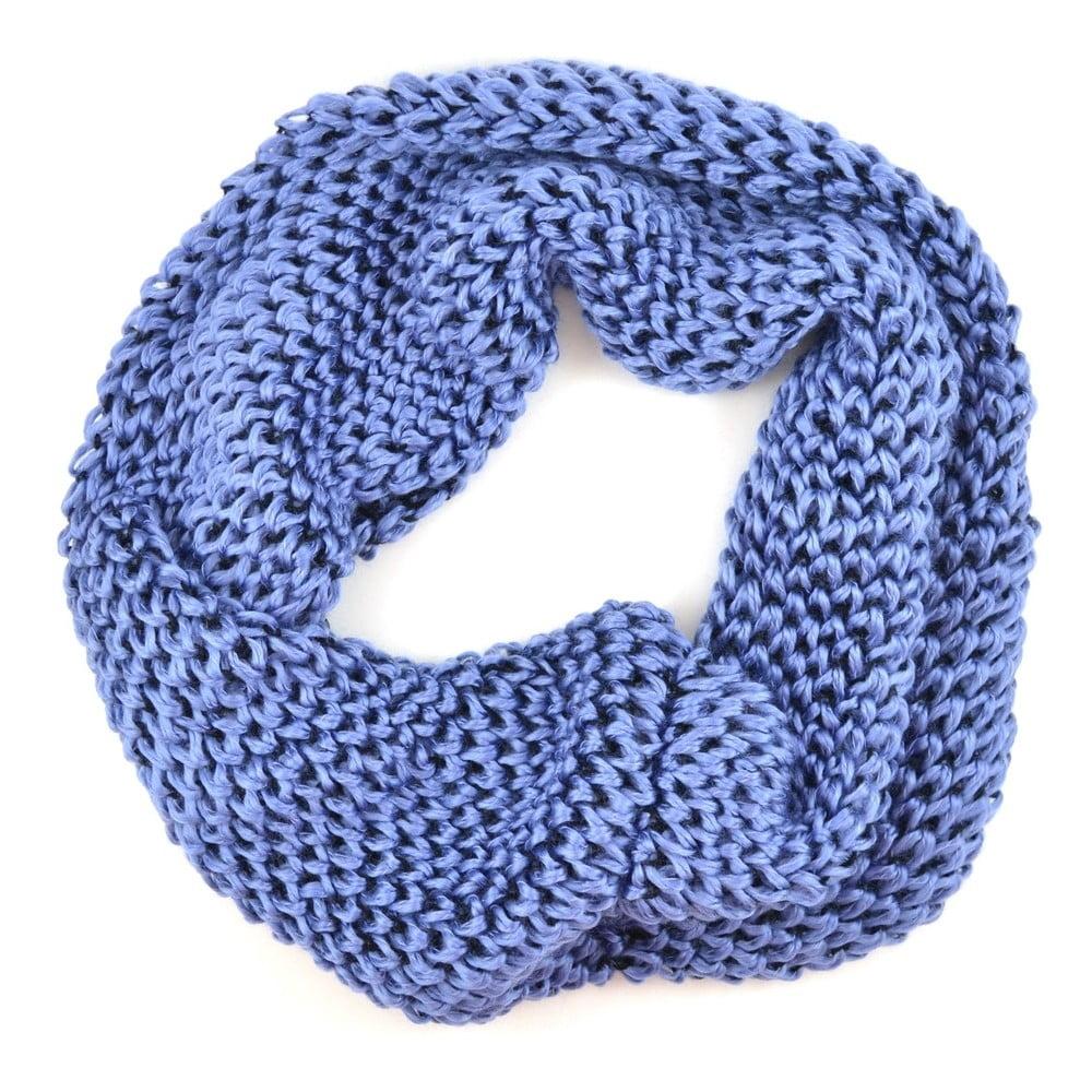 Dámská kruhová šála Komin Blue  a2ac14161b