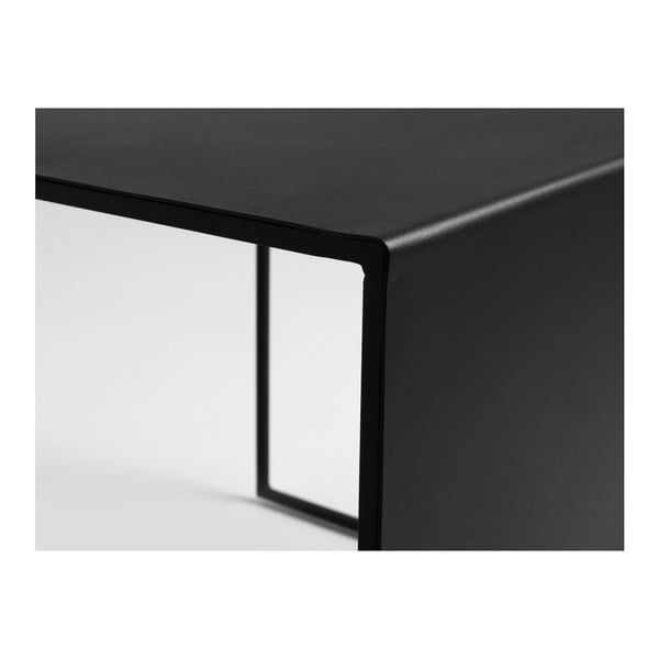 Măsuță de cafea Custom Form 2Wall, 50 cm, negru