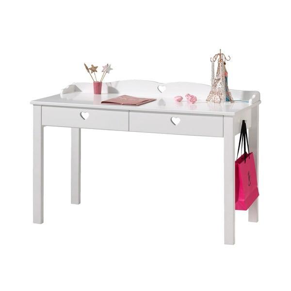 Amori fehér íróasztal, hosszúság 60 cm - Vipack