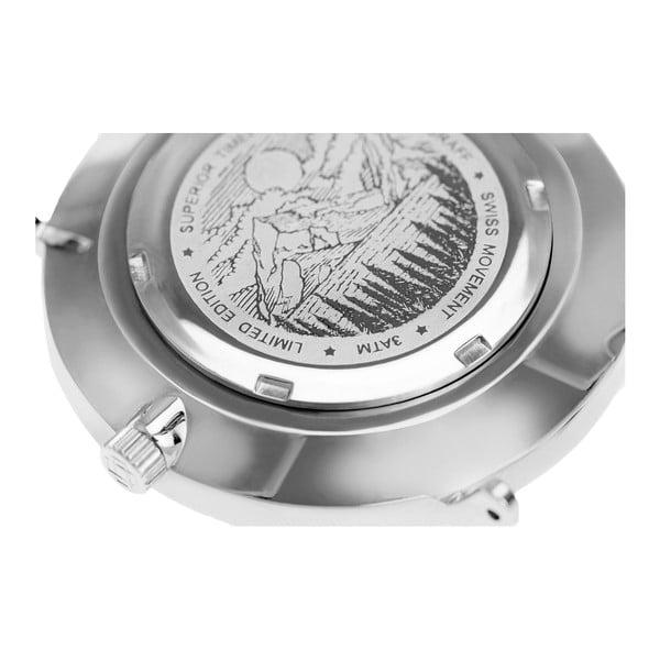 Unisex hodinky s páskem z nerezové oceli ve stříbrné barvě Frederic Graff Silver Dom