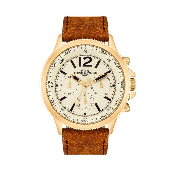 Pánské hodinky Spike Brown Gold