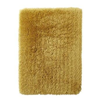 Covor țesut manual Think Rugs Polar PL Yellow, 120 x 170 cm, galben