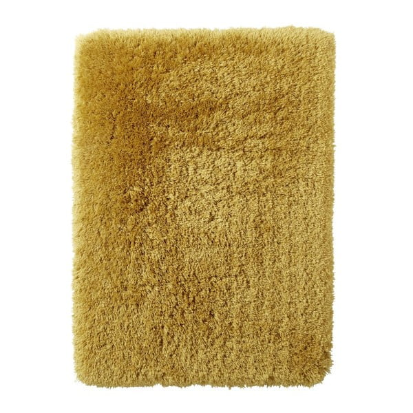 Covor țesut manual Think Rugs Polar PL Yellow, 80 x 150 cm, galben