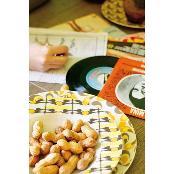 Sada porcelánových talířů Anni, 18 ks