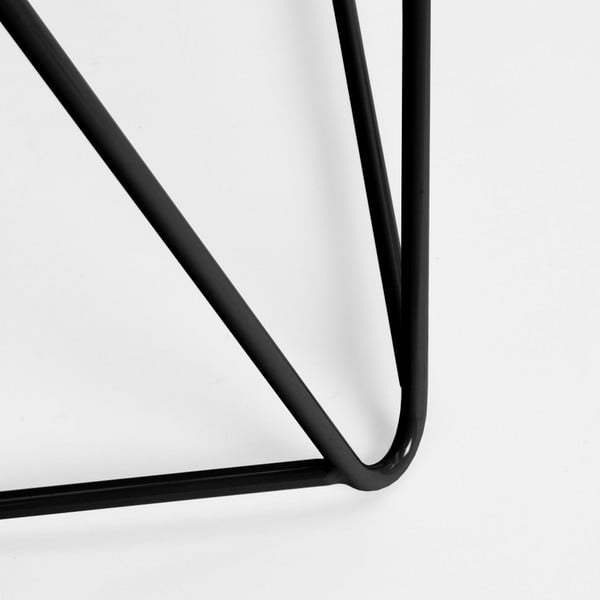 Černá podnož ke stolu Master & Master Diamond Narrow, 70x55cm