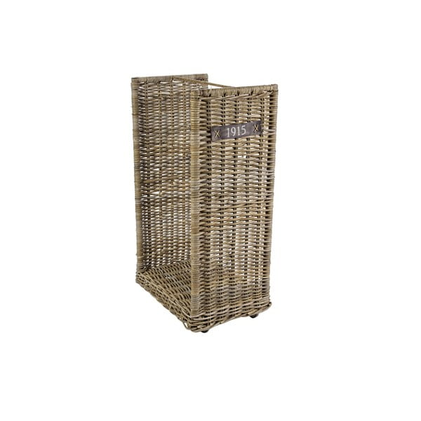 Košík na dřevo/časopisy Ascot, 50x90 cm