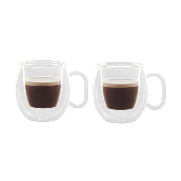 Set dvoustěnných sklenic Brasile Espresso, 7,5 cl, 2ks