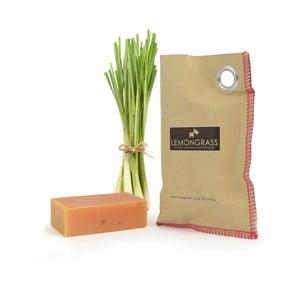 Přírodní mýdlo s kozím mlékem a citronovou trávou HF Living