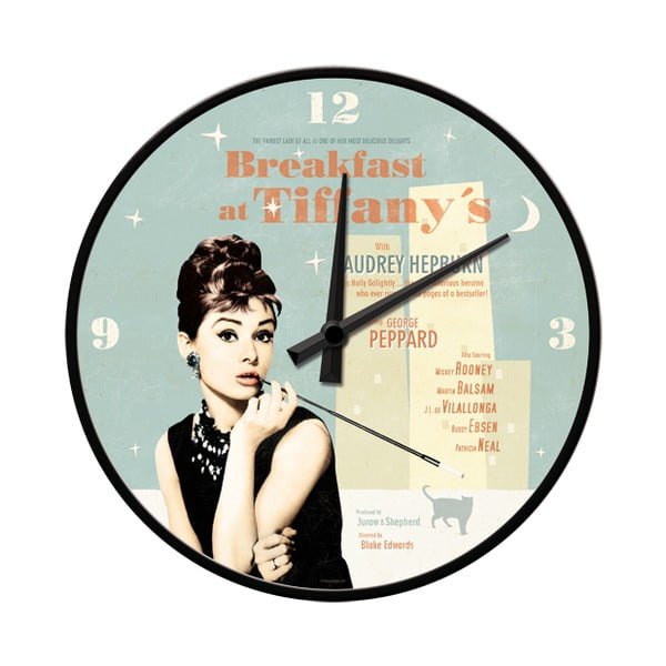 Hodiny Breakfast at tiffany's
