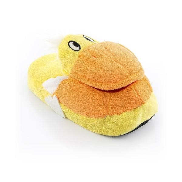 Dětské bačkory InnovaGoods Fluffy Slippers Duck, velikost L