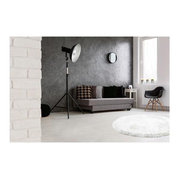 Bílý ručně vyráběný koberec Obsession My Touch Me Whit, 60 cm