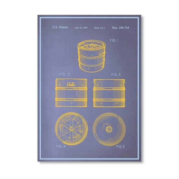 Plakát Keg I, 30x42 cm