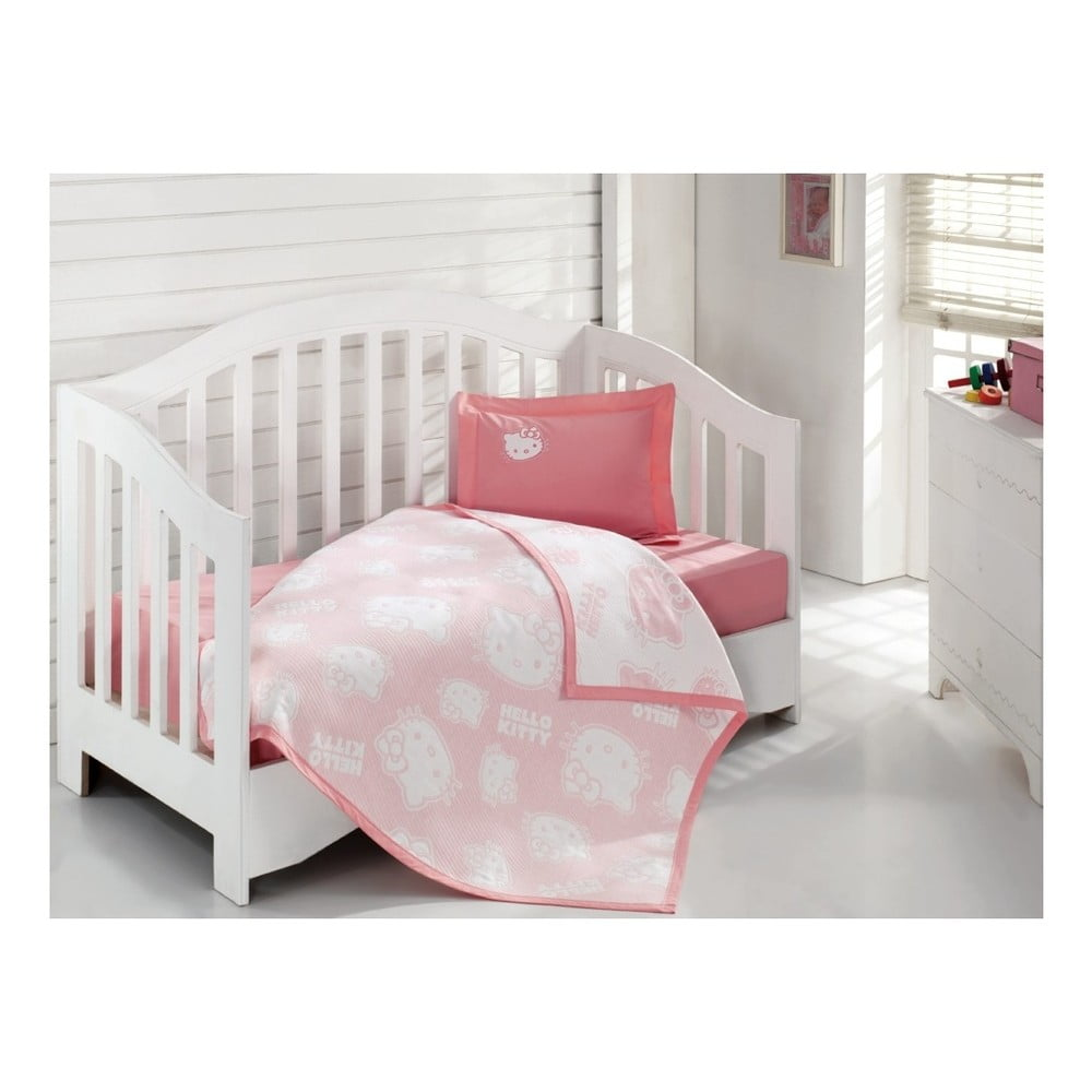 Dětský přehoz přes postel Gently, 100 x 120 cm