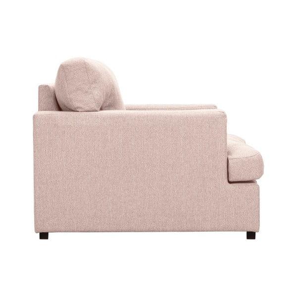 Světle růžové křeslo Windsor & Co Sofas Daphne
