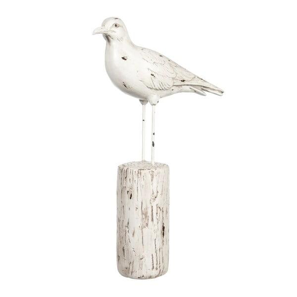 Dekorace Bird on Trunk, 21x8x35 cm