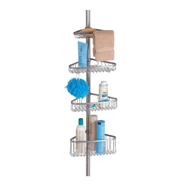 Rohová kúpeľňová teleskopická polička InterDesign York