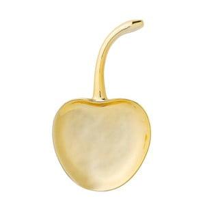 Dekorativní kameninový podnos ve zlaté barvě Bloomingville Cherry