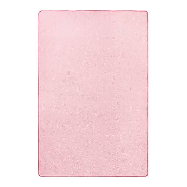 Světle růžový koberec Hanse Home Fancy, 100 x 150 cm