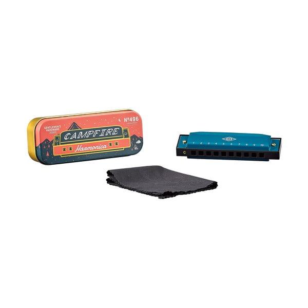 Kék harmonika fémdobozban - Gentlemen's Hardware