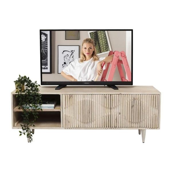 TV komoda z mangového dřeva Kare Design Echo