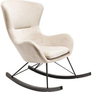 Bílé houpací křeslo Kare Design Oslo