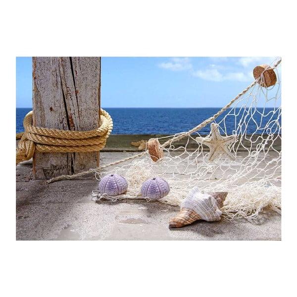 Vinylový koberec Seaside, 52x75 cm