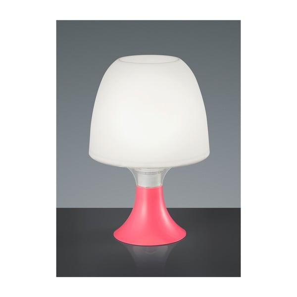 Stolní lampa Akki, růžová