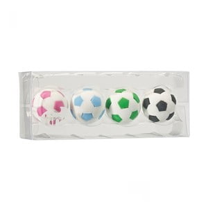 Set 4 gume de șters parfumate TINC Football