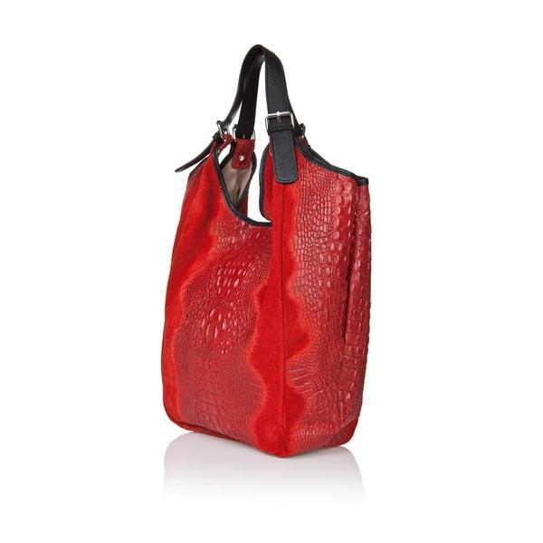 Kožená kabelka Giorgio Costa 199 Red