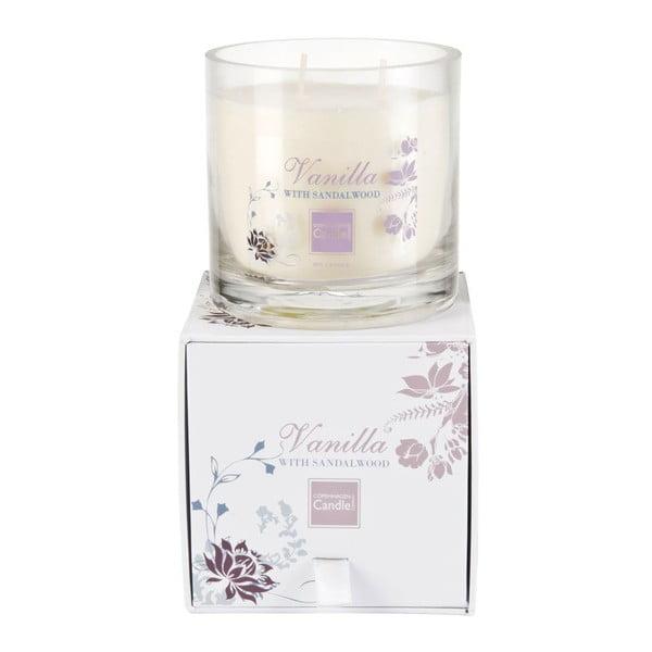 Aroma svíčka Vanilla & Sandalwood Medium, doba hoření 50 hodin