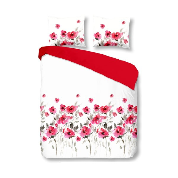 Povlečení Flowerdream Red, 140x200 cm