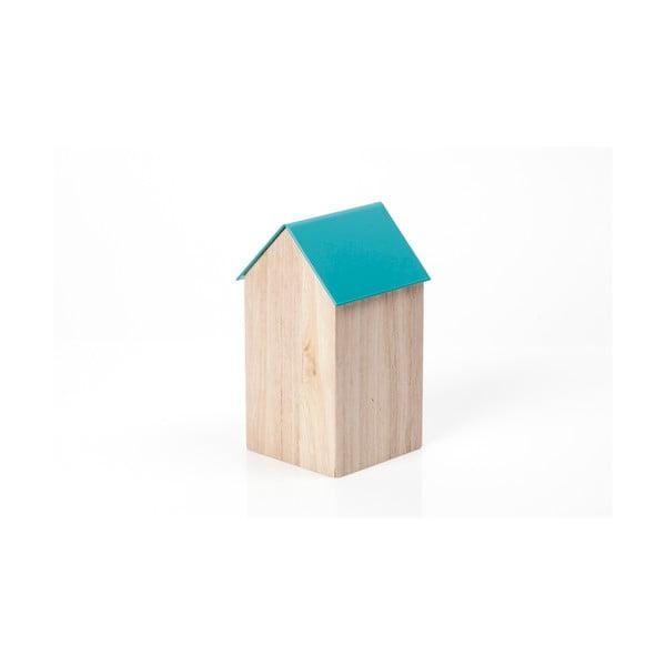Modrý úložný box House Medium