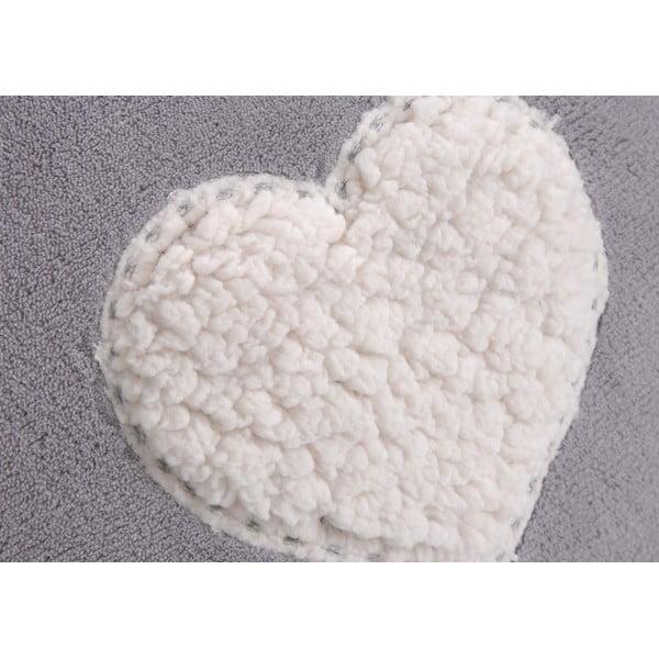 Polštář s náplní Sheer Heart Grey