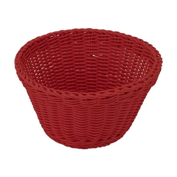 Košík Korb Red, 18x10 cm