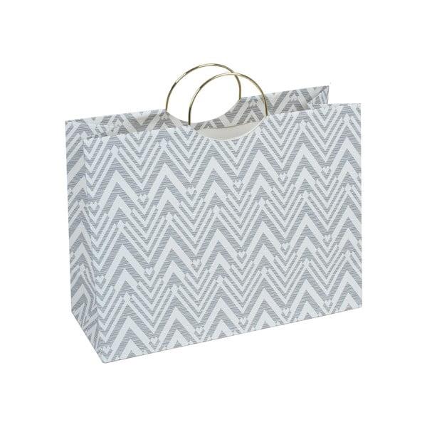 Šedá dárková taška Tri-Coastal Design Stockholm