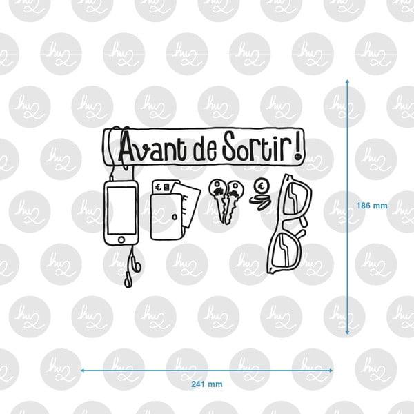 Samolepka Avant De Sortir