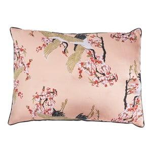 Pernă din amestec de bumbac Bahne & CO, roz