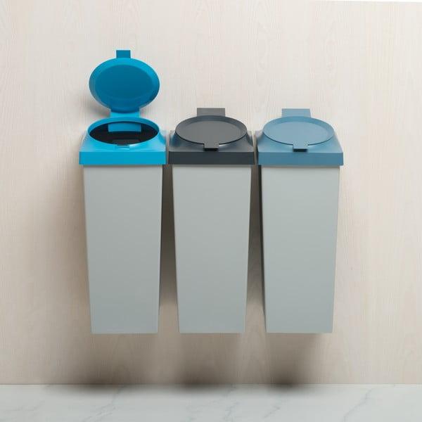 Odpadkový koš Top, 20 l, světle modrý