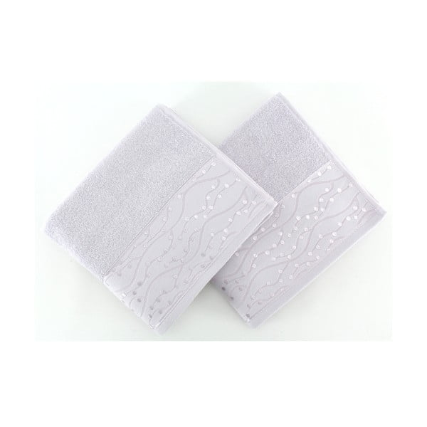 Sada 2 uterákov Tomuruk Lilac, 50 x 90 cm