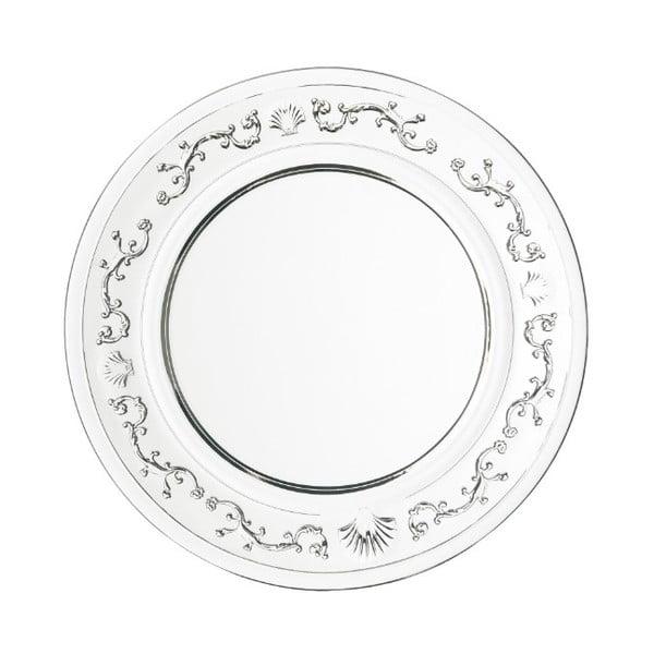 Skleněný dezertní talíř La Rochére Versailles, ⌀19cm