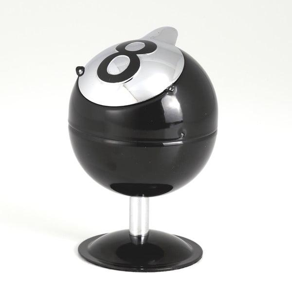 Černý popelník Tomasucci Ball