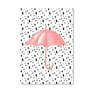 Poster Americanflat Umbrella on Polka, 30 x 42 cm