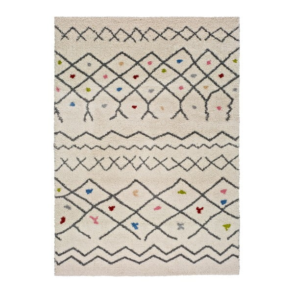 Kasbah Puro fehér szőnyeg, 133 x 190 cm - Universal