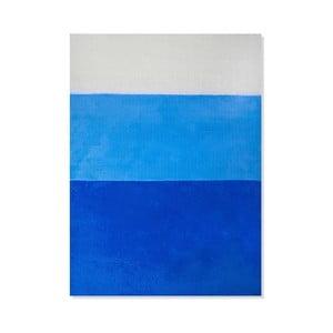 Dětský koberec Mavis Blue Stripes, 100x150 cm