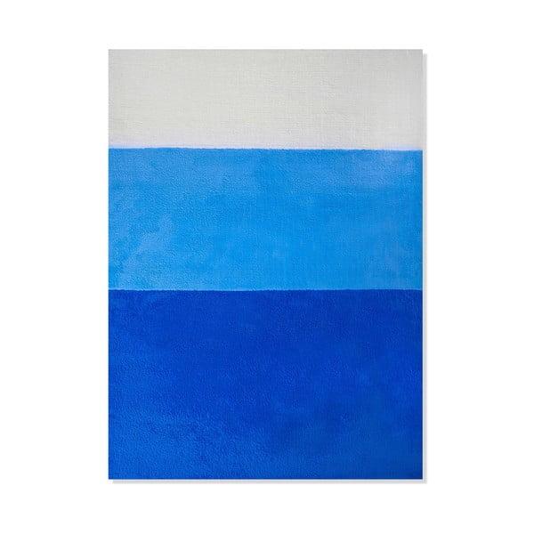 Dětský koberec Mavis Blue Stripes, 120x180 cm