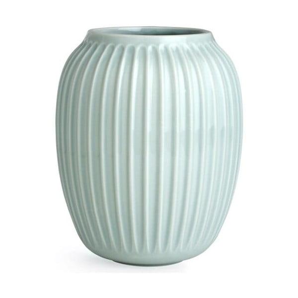 Hammershoi mentolkék agyagkerámia váza, magasság 20 cm - Kähler Design